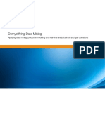 Demystifying Data Mining