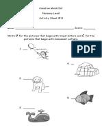 Activity Sheet No. 8