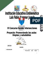 Proyecto Aulas Limpias y Saludables