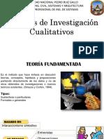 Métodos de Investigación Cualitativos