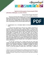 As TDIC aplicadas à Educação e às Artes Visuais.pdf
