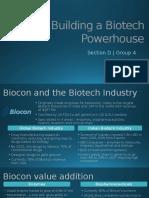 Biocon Case