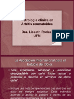 Metrología Clínica en Artritis Reumatoidea