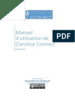 Manuel Claroline Connect 29 Octobre 13