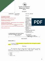 Agustin v Comelec - Original Case