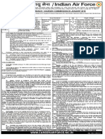 Notificaiton Indian Air Force Commissioned Officer Posts1