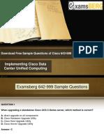 Examsberg 642-999 Study Material