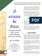 D&D 3E - O Enigma Do Ettin (Aventura) - Biblioteca Élfica