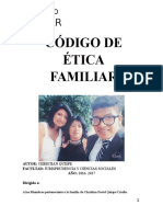 Codigo de Etica de l Familia