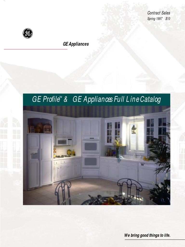 Ge 1997 refridgrators refrigerator washing machine fandeluxe Image collections
