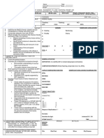 MC3 OPORD Evaluation Sheet