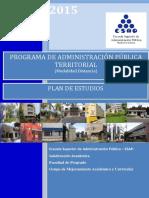 4. Plan de Estudios APTD 2015