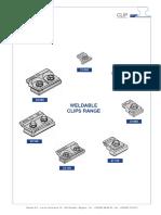 Gantrex Weldable Clips Range