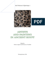 ARTISTS AND PAINTING IN ANCIENT EGYPT