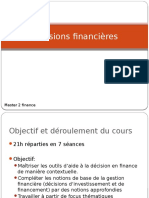 Decisions Financières M2finance