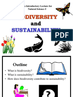 Nat Sci 5 - Lecture 1 Biodiversity Sustainability
