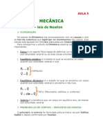 Física - Aula 05 - Mecância - Dinâmica - Leis de Newton