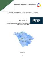Raport anual // ADR Nord // 2016