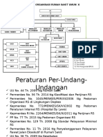Struktur Organisasi RS X