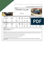 Lista de Preturi Ford Transit Courier