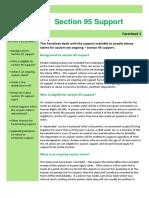 Factsheet 1 Section 95