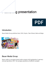 publishing presentation