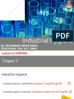 Lecture 3.3 Industrial Hygience Control Jan 2017 Ilearn