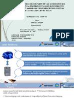 Sistem Pengendalian Motor Induksi Menggunakan Inverter VFD