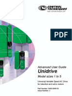 Unidrive Advanced Users Guide