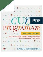 Curs de Programare Pentru Copii de Carol Vorderman