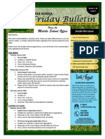 MS Parent Bulletin (Week of January 23 to 27)