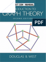 Douglas B. West-Solution Manual for Introduction to Graph Theory, Second Edition-Pearson (2001)