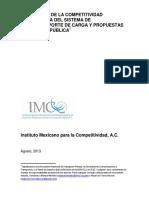 Reporte Final Competitividad Del Sistema de Autotransporte de Carga 07082013