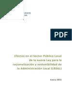 Estudio AVS_Efectos Sector Público Local LRSAL