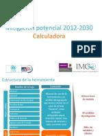 Calculadora Mitigacion 2012 2030 Resumen Ppt