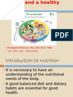 Nutrition & Healthy DietRR