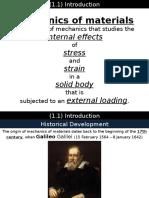 MECH 322 Lecture 1 - Stress