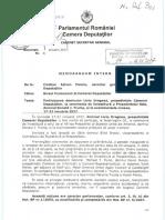 Memorandum Vizita în SUA a lui Liviu Dragnea