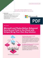 Thales Microsoft Key Vault