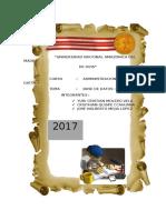 Documento de Base de Datosi