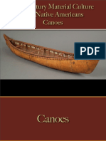 Native Americans - Canoes