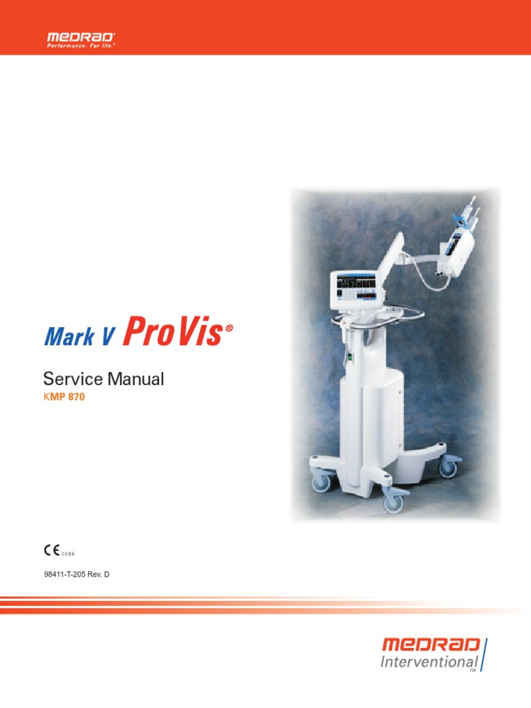 MedRad Service Manual PROVIS | Digital To Analog Converter | Electrical  Connector