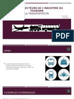les cinq secteurs de lindustrie du tourisme  6