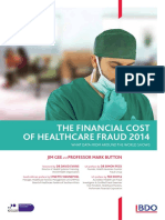 The Financial Cost of Healthcare Fraud Report 2014