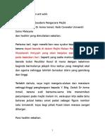 Teks Ucapan Alu Aluan Pengarah (1)