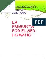 La Pregunta Por El Ser Humano.pdf