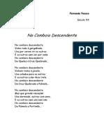 Poema-No Comboio Descendente