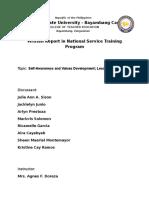 NSTP Report
