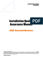 GSE - LİNER Installation Quality Assurance Manual_IQAM_E_RUS