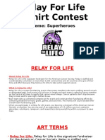 relay for life superheroes ppt pdf